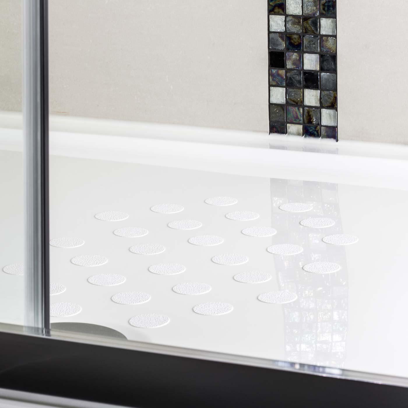 anti slip shower stickers non slip bath. Black Bedroom Furniture Sets. Home Design Ideas