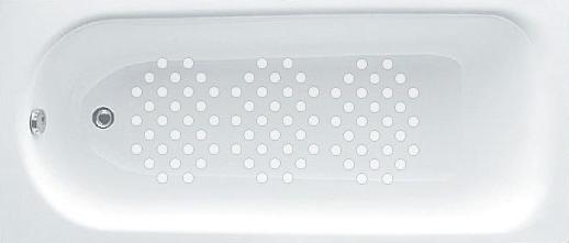 Bath showing 3 packs of Anti Slip Bath Safety Stickers